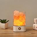halpa Leivontavälineet-1kpl usb kristalli valo luonnollinen himalajan suolalamppu ilmanpuhdistin mielialan luoja sisä lämmin valo pöytävalaisin makuuhuoneen lava lamppu \ t