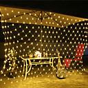 halpa Aitohiusperuukit-3x2m Koristevalot 200 LEDit RGB / Valkoinen / Sininen Vedenkestävä / Luova / Party 220-240 V / 110-120 V 1set / IP44