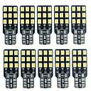 halpa Car Signal Lights-SENCART 10pcs T10 Auto Lamput 2 W SMD 2838 180 lm 18 LED Rekisterikilven valo / Suuntavilkku / Työvalo Käyttötarkoitus Universaali Kaikki vuodet