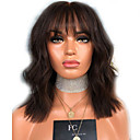 cheap Synthetic Lace Wigs-Synthetic Wig Wavy Style Middle Part Capless Wig Brown Light Brown Synthetic Hair 16 inch Women's Women Brown Wig Long Natural Wigs