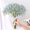 abordables Flores Artificiales-Flores Artificiales 16.0 Rama Clásico Europeo Ramos de Flores para Boda Gipsófila Flores eternas Flor de Mesa