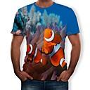 hesapli Günlük Cosplay Aksesuarları-Cosplay Cosplay Tişört Terylene 3D Uyumluluk Erkek / Kadın's