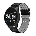 voordelige Smartwatches-B2 Unisex Smart horloge Android iOS Bluetooth Waterbestendig Aanraakscherm Hartslagmeter Bloeddrukmeting Sportief Stopwatch Stappenteller Gespreksherinnering Activiteitentracker Slaaptracker