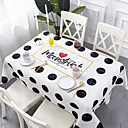 זול כיסויי שולחן-עכשווי יום יומי כותנה סיבי פוליאסטר ריבוע Cube כיסויי שולחן מפות שולחן גיאומטרי מעוטר מדפיס ידידותי לסביבה עמיד במים פרח לוח קישוטים