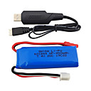 cheap RC Parts & Accessories-WLtoys wltoys K969 K979 K989 K999 P929 P939 7.4V 550mAh 1 set Battery / Cable / HDMI Cable Quick Charging