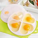 זול אביזרים למטבח-PP(פוליפרופילן) עובש DIY כלי אפייה עשה זאת בעצמך כלי מטבח כלי מטבח עבור ביצה 1pc