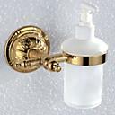 זול סבון כלים-כלי לסבון עיצוב חדש / מגניב עכשווי פליז 1pc מותקן על הקיר