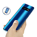 cheap Cellphone Case-Case For Samsung Galaxy Galaxy S10 / Galaxy S10 Plus Plating / Mirror / Ultra-thin Full Body Cases Solid Colored Hard PC for S9 / S9 Plus / S8 Plus