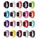 hesapli Smartwatch Bantları-Watch Band için Apple Watch Serisi 5/4/3/2/1 / Apple Watch Series 4/3/2/1 Apple Spor Bantları Silikon Bilek Askısı