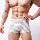 זול בגדים צמודים-בגדי ריקוד גברים בסיסי בוקסר כותנה חלק 1 מותן נמוך