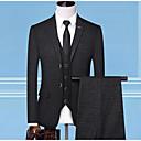 זול חליפות רטובות,חליפות צלילה וחולצות ראש-גארד-בגדי ריקוד גברים אפור כהה כחול נייבי XXL XXXL XXXXL חליפות מידות גדולות אחיד רזה