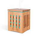 povoljno Ulošci i umetci-kvadrat bambus aparat za aromaterapiju ultrazvučni dom karakterističan aparat za aromaterapiju