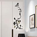 voordelige Muurstickers-Decoratieve Muurstickers - 3D Muurstickers / Spiegel muurstickers Bloemenmotief / Botanisch / 3D Slaapkamer / Kinder Kamer