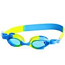 זול Swim Goggles-משקפי שחייה עמיד למים נגד ערפל גודל מתכוונן אנטי-UV לקוצר ראייה מרשם ג'ל סיליקה PC ורוד שחור כחול ורוד שחור כחול