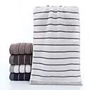 זול מגבת רחצה-איכות מעולה מגבת רחצה, פסים כותנה טהורה 3 pcs