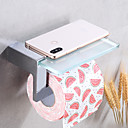 זול מחזיקי נייר טואלט-מחזיק נייר טואלט יצירתי Fun & Whimsical פליז 1pc מותקן על הקיר