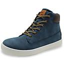 זול נעלי ילדים אתלטי-בנים נוחות / מגפיי קרב PU נעלי ספורט צהוב / כחול סתיו