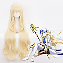 cheap Videogame Cosplay Wigs-Cosplay Cosplay Cosplay Wigs All 40 inch Heat Resistant Fiber Golden Anime