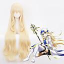 preiswerte Videospiele Cosplay Perücken-Cosplay Cosplay Cosplay Perücken Alles 40 Zoll Hitzebeständige Faser Golden Anime