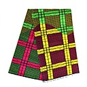 preiswerte Fashion Fabric-Baumwolle Geometrisch Muster 112 cm Breite Stoff für Shirt verkauft bis zum 6 Yard