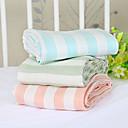 baratos Cobertores e Mantas-Sofá Jogue / Cobertores para Crianças / Cobertores Multifuncionais, Sólido / Listrado Fibra de polpa de bambu Confortável Super Macio cobertores