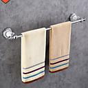 זול מוטות למגבות-מתלה מגבת עיצוב חדש / מגניב עכשווי פלדת על חלד 1pc 1-מגבת בר מותקן על הקיר