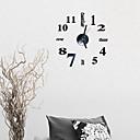 "cheap DIY Wall Clocks-Wall Clock,Modern Contemporary Fashion Acrylic Round Indoor 16"" x 16"" (40cm x 40cm)"
