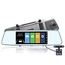 halpa Auto-DVR-MK-A6 Auto DVR 170 astetta Laajakulma 10 inch Dash Cam kanssa Pimeänäkö / Jatkuva tallennus / ADAS Automaattinen tallennin