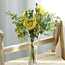 זול פרחים מלאכותיים-פרחים מלאכותיים 7 ענף קלאסי ארופאי פרחי חתונה ורדים גיבסנית פרחים לשולחן