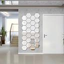 voordelige Muurstickers-Decoratieve Muurstickers - Spiegel muurstickers Vormen Voor Binnen / Verwijderbaar