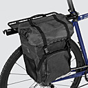 cheap Bike Frame Bags-ROSWHEEL 15 L Bike Pannier Bag Large Capacity Waterproof Durable Bike Bag Cloth 300D Polyester Bicycle Bag Cycle Bag Cycling Road Bike Mountain Bike MTB Outdoor