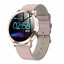 povoljno Smart Wristbands-ds18 pametni sat bt fitness tracker podrška obavijesti / monitor brzine otkucaja sporta smartwatch kompatibilan s Apple / samsung / android telefonima