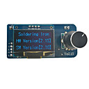 זול עיצוב וקישוט לקיר-stm32 oled 2.1 st12 דיי הלחמה תחנת שליטה לוח ברזל חשמלי ראש ריתוך ידית כלי