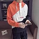 Недорогие Накладки для мужчин-Муж. Худи и толстовка Виды спорта Мода Жакет Бег Длинный рукав Спортивная одежда С защитой от ветра Быстровысыхающий Неэластичная