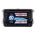 cheap Car DVD Players-7 inch 2 Din Navigation Audio Video For Volkswagen Wince CE In-Dash Car DVD Player Supprot Radio/Steering Wheel Control/Phone Link/Subwoofer/GPS/Built-in Bluetooth/Touch Screen/SD/USB