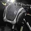 cheap Bike Handlebar Bags-3 L Bike Handlebar Bag Shoulder Messenger Bag Waterproof Portable Wearable Bike Bag Canvas Nylon Bicycle Bag Cycle Bag Cycling Outdoor Exercise Bike / Bicycle