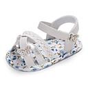 halpa Lasten sandaalit-Tyttöjen Canvas Sandaalit Taapero (9m-4ys) Comfort / Ensikengät Kävely Valkoinen / Sininen / Pinkki Kesä