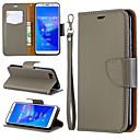 halpa Älypuhelimet-Etui Käyttötarkoitus Huawei Huawei Nova 3i / Huawei Honor 8A / Honor 7A Lomapkko / Korttikotelo / Tuella Suojakuori Yhtenäinen Kova PU-nahka