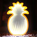 halpa Koristevalot-1kpl LED Night Light Keltainen AA-paristot virittyvät Luova <5 V