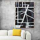 halpa Kehystetty taide-Kehystetty taidepainate Kehystetty kanvaasi Painatteet - Abstrakti Polystyreeni Öljymaalaus Wall Art