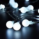 זול חוט נורות לד-3xaa סוללה הוביל גלובוס מחרוזת אור 10m 80leds הוביל חוצות צד קישוט חג המולד gardenholiday תאורה
