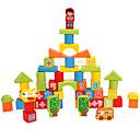 זול כיסויים-אבני בניין 53 pcs תואם Legoing דגם גיאומטרי כל צעצועים מתנות