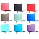 זול אביזרי בטיחות-לקרצף צבע מוצק עבור macbook Pro האוויר 11-15 המחשב מקרה 2018 2017 לשחרר a1989 / a1706 / a1708 עם רצועת מגע pvc פגז קשה