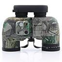זול מונוקולרים, משקפות וטלסקופים-10 X 50 mm משקפת גלאי טווח Porro עמיד במים הבחנה גבוהה  (HD) עמיד לזעזועים ציפוי מרובה מלא BAK4 מצפן ראיית לילה גוּמִי מתכת / IPX-7 / Hunting / צפרות(צפיה בציפורים)