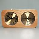 זול שעוני קיר-שעון, מודרני, מודרני, מעץ, ריבוע