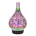 cheap Décor Lights-1pc 7 Color Led Night Light Wood Grain Humidifier Creative Home Air Purification Humidifier Night Light Essential Oil Aromatherapy Machine Ultrasonic Air Purifier