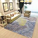 זול שטיחים-שטיחון לדלת כניסה מודרני 100 גרם למטר מרובע, פוליאסטר סרוג נמתח, מלבני איכות מעולה שָׁטִיחַ
