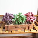 זול פרחים מלאכותיים-פרחים מלאכותיים 1 ענף קלאסי מסוגנן פסטורלי סגנון צמחים עסיסיים פרחים לשולחן