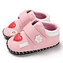 זול סנדלים לילדים-בנות צעדים ראשונים PU נעלי ספורט תינוקות (0-9m) / פעוט (9m-4ys) לבן / ורוד אביב / סתיו / גומי