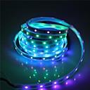 halpa LED-hehkulamput-brelong smd5050 5m 300led kotelo vedenpitävä valopalkki 21 avain infrapunaohjain, jossa 5a virtalähde valkoinen